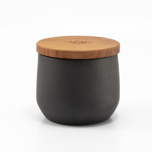 Kanura jar - black Maitri - 3