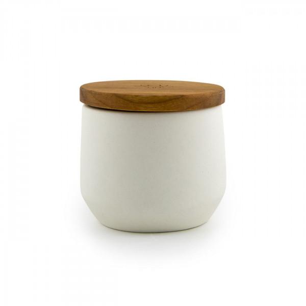 Kanura jar - white Maitri - 1
