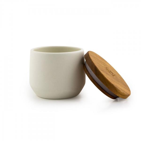 Kanura jar - white Maitri - 2