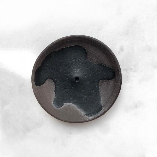 Porte-encens en céramique- noir Wild Harvest Botanicals - 5
