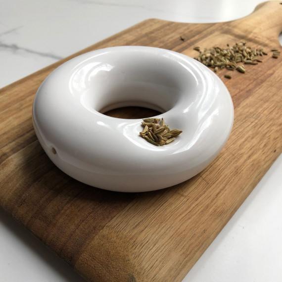 Anillo pipe Maye Lopez Ceramista - 4