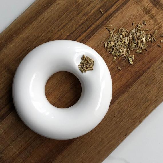 Anillo pipe Maye Lopez Ceramista - 3
