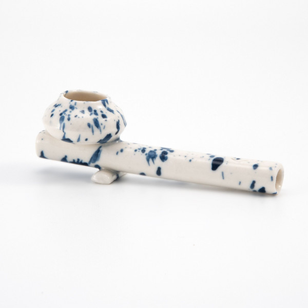 Ceramic bowl pipe - Speckled Relâche by A&M - 1