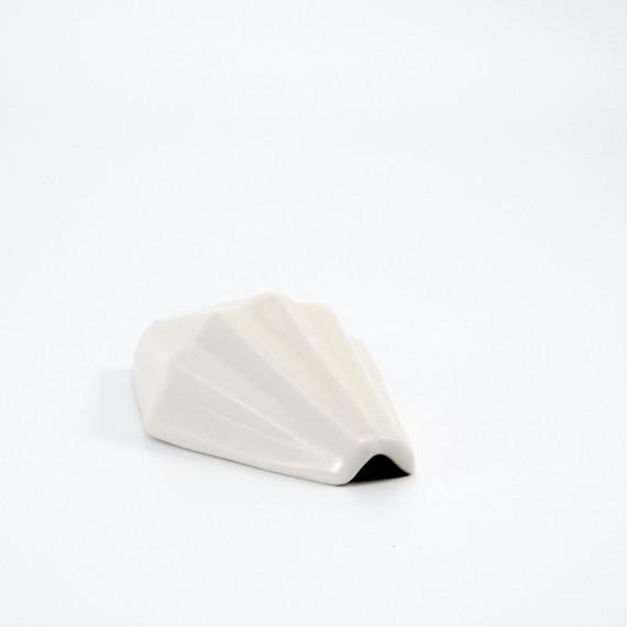 Cendrier géométrique - blanc Relâche by A&M - 3