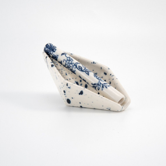 Geometric Ashtray - Speckled Relâche by A&M - 5