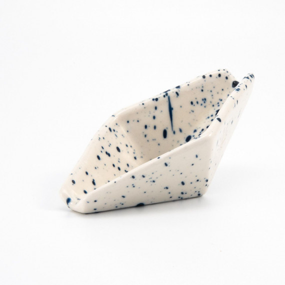 Geometric Ashtray - Speckled Relâche by A&M - 6