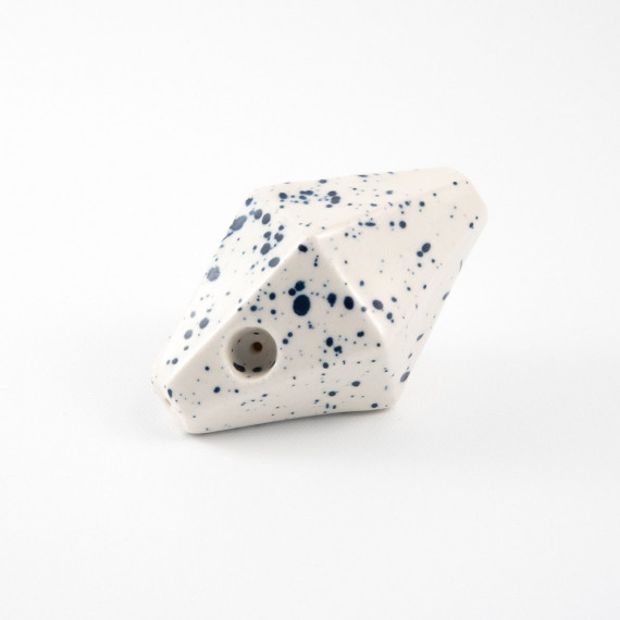 Geometric pipe - Speckled Relâche by A&M - 1
